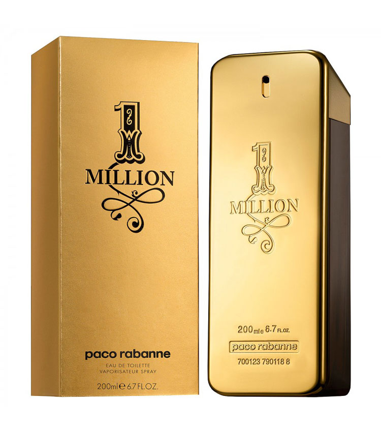 1 MILLION paco rabanne edt 200ml uomo