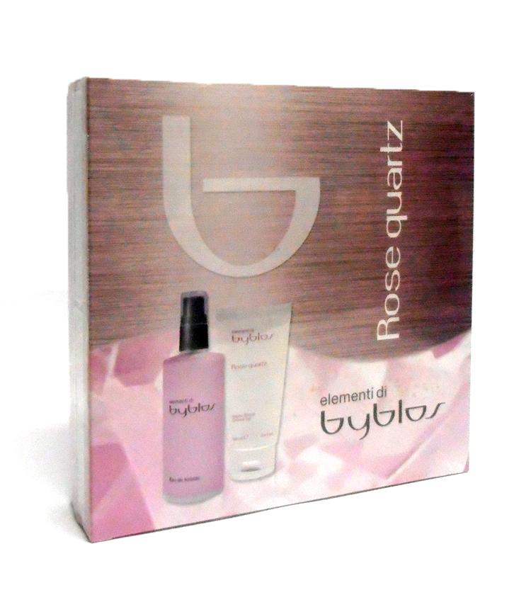 Cofanetto donna elementi di byblos rose quartz edt 120ml bagno doccia 100ml vendita on line - Byblos cielo bagno doccia ossigenante ...