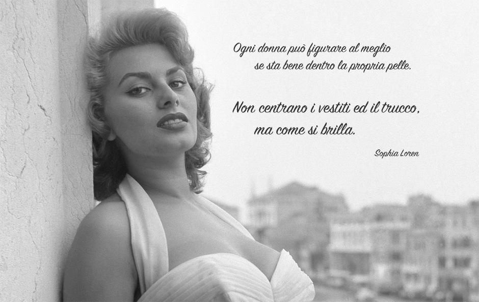 Preferenza Sophia Loren aforismi - Vendita On-Line Profumi QF67