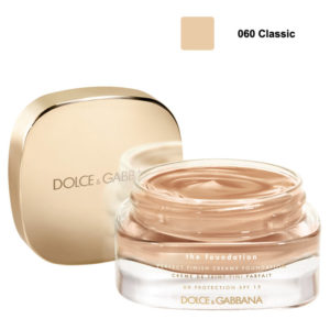 """TESTER"" DOLCE & GABBANA Perfect Finish Creamy Foundation fondotinta viso 30ml 060 classic"