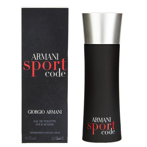 ARMANI CODE SPORT GIORGIO ARMANI edt 75ml uomo
