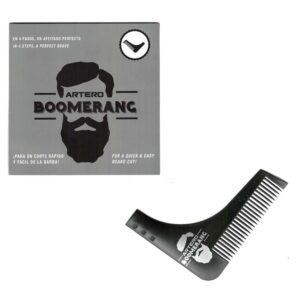 ARTERO BOOMERANG Pettine per Barba Perfetta in 4 Step