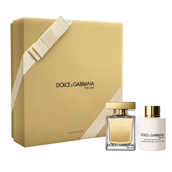 Cofanetto donna DOLCE & GABBANA THE ONE edt 50ml + body lotion 100ml
