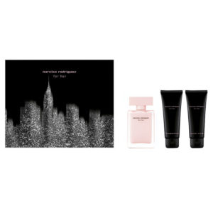 Cofanetto donna NARCISO RODRIGUEZ FOR HER edp 50ml + body lotion 75ml + shower gel 75ml