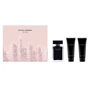 Cofanetto donna NARCISO RODRIGUEZ FOR HER edt 50ml + body lotion 75ml + shower gel 75ml