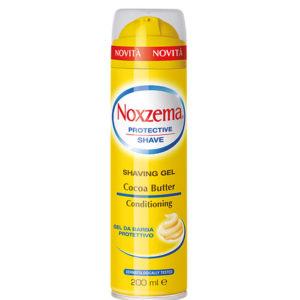NOXZEMA COCOA BUTTER Shaving Gel gel da barba protettivo 200ml