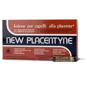 LINEA ITALIANA NEW PLACENTYNE Lozione per Capelli alla Placenta 12 fiale 10ml