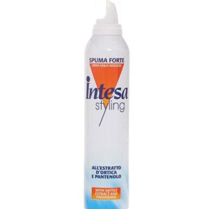 INTESA STYLING Spuma Forte per capelli all'estratto d'ortica e pantenolo 300ml