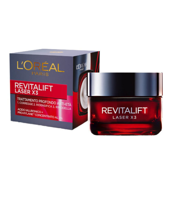 L'OREAL REVITALIFT LASER X3 Crema Viso Anti-Eta' Giorno 50ml