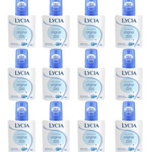 12pz LYCIA ANTI ODORANTE ORIGINAL deodorante corpo 75ml