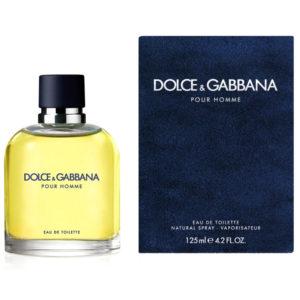 DOLCE & GABBANA POUR HOMME edt 125ml uomo