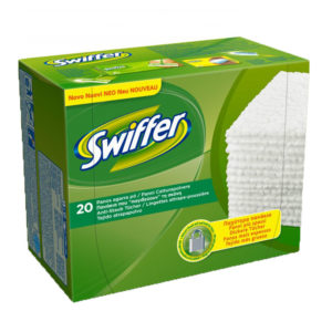 20 Panni Cattura Polvere SWIFFER