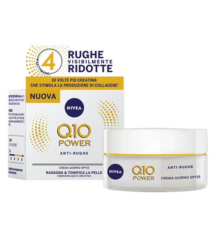 NIVEA Q10 POWER ANTIRUGHE Crema Giorno SPF15 50ml..