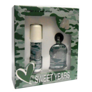 Cofanetto uomo SWEET YEARS I'M STRONG edt 100ml + deodorante profumato 100ml