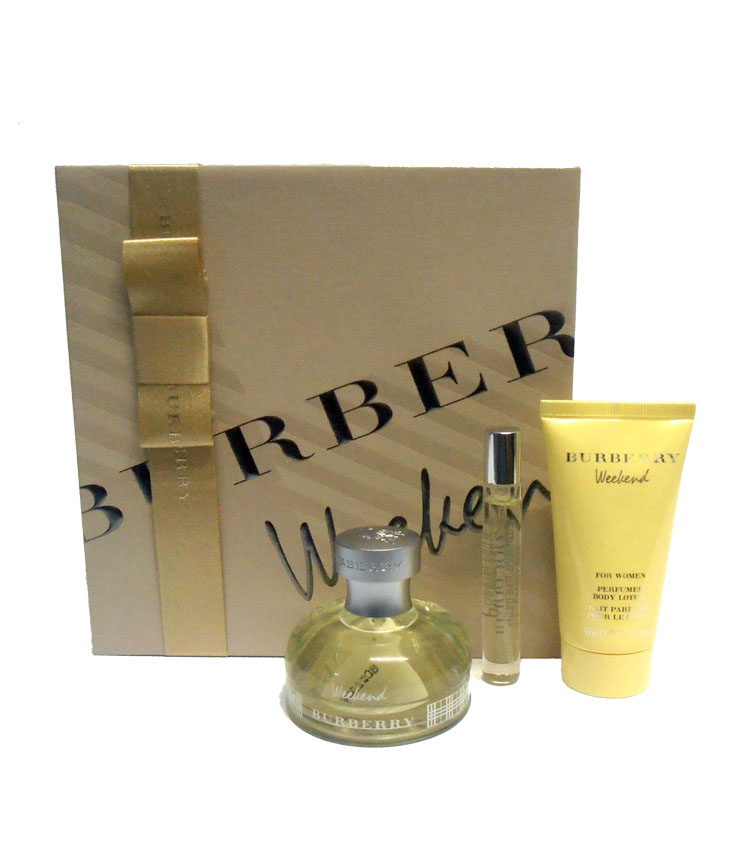 Set/confezione donna BURBERRY WEEKEND edp 50ml + edp 7,5ml + body lotion 50ml