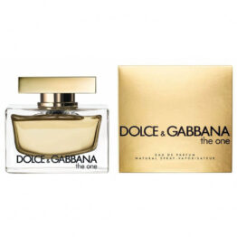 DOLCE & GABBANA THE ONE edp 75ml donna