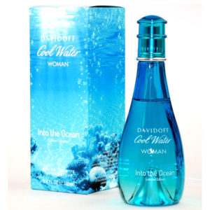 DAVIDOFF COOL WATER WOMAN INTO THE OCEAN edt 100ml donna