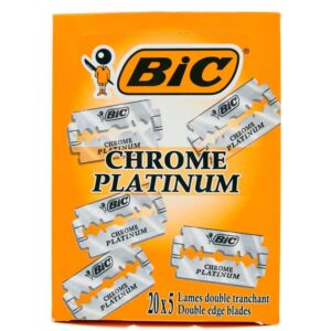 100 lame BIC CHROME PLATINUM