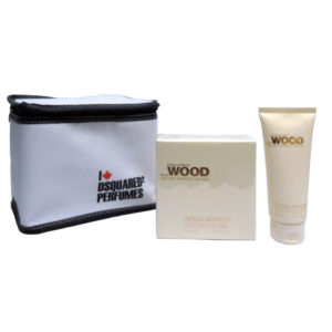 Cofanetto donna DSQUARED SHE WOOD VELVET FOREST WOOD edp 50ml + body lotion 100ml + beauty