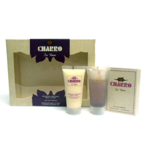 Set/confezione donna EL CHARRO For Woman edp 1,5ml + body lotion 30ml + shower gel 30ml