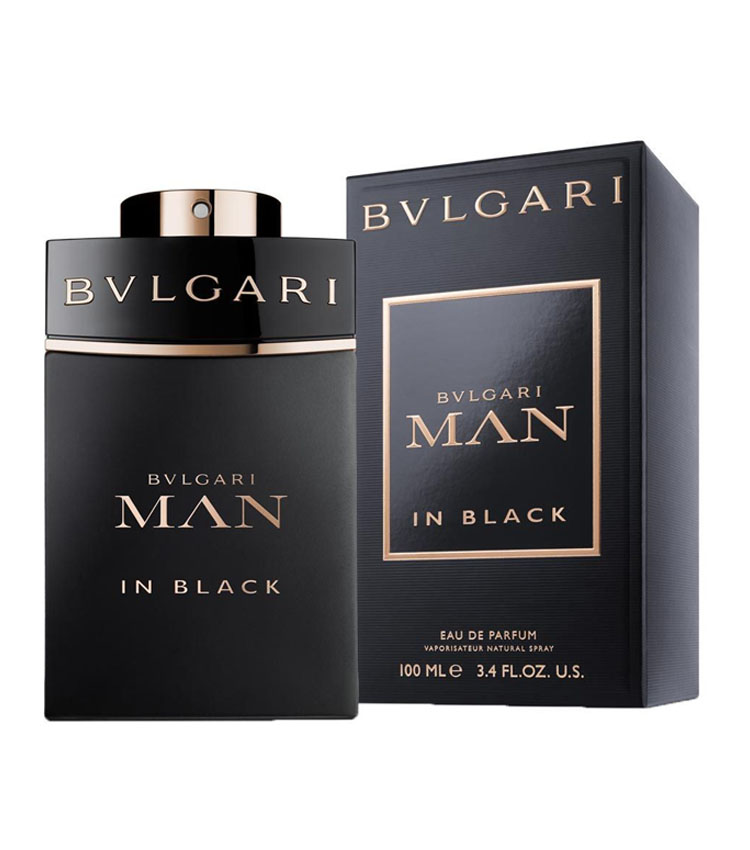 BULGARI MAN IN BLACK edp 100ml uomo