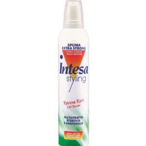 INTESA STYLING RAVVIVA RICCI Spuma Extra Strong per capelli all'estratto d'ortica e pantenolo 300ml