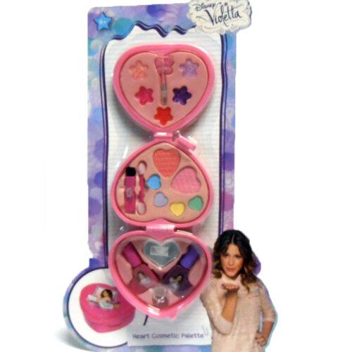 Set bambina DISNEY VIOLETTA HEART COSMETIC PALETTE