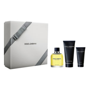 Cofanetto uomo DOLCE & GABBANA POUR HOMME edt 125ml + after shave balm 100ml + shower gel 50ml