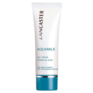 """TESTER"" LANCASTER AQUAMILK DAY CREAM Crema Viso 50ml"