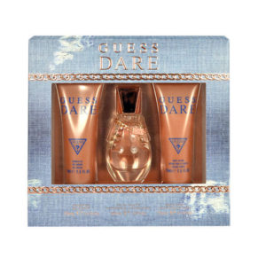 Cofanetto donna GUESS DARE edt 30ml + shower gel 75ml + body lotion 75ml
