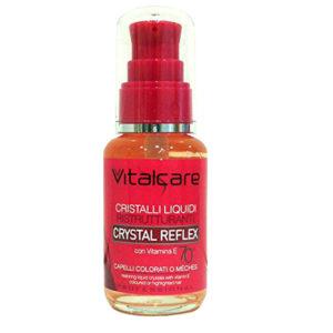 VITALCARE CRYSTAL REFLEX Cristalli Liquidi Ristrutturanti capelli colorati o meches 50ml