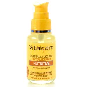 VITALCARE NUTRITIVE Cristalli Liquidi Rivitalizzanti capelli secchi e sfibrati 50ml