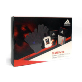 Cofanetto uomo ADIDAS TEAM FORCE edt 50ml + after shave 100ml + guanti