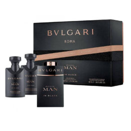 Cofanetto uomo BULGARI MAN IN BLACK edp 60ml + after shave balm 40ml + shampoo and shower gel 40ml