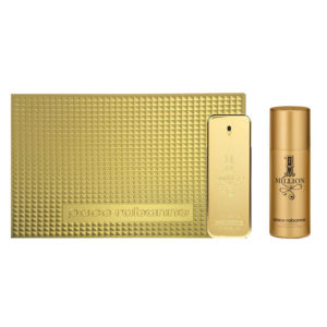 Cofanetto uomo 1 MILLION PACO RABANNE edt 100ml + deodorante spray 150ml