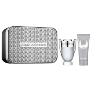 Cofanetto uomo INVICTUS PACO RABANNE edt 100ml + shower gel 100ml