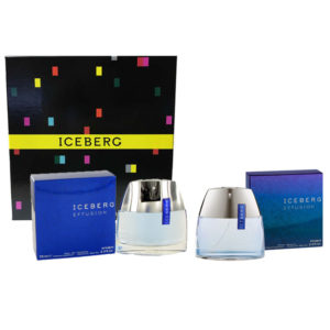 Cofanetto uomo ICEBERG EFFUSION MAN edt 75ml + after shave spray 75ml
