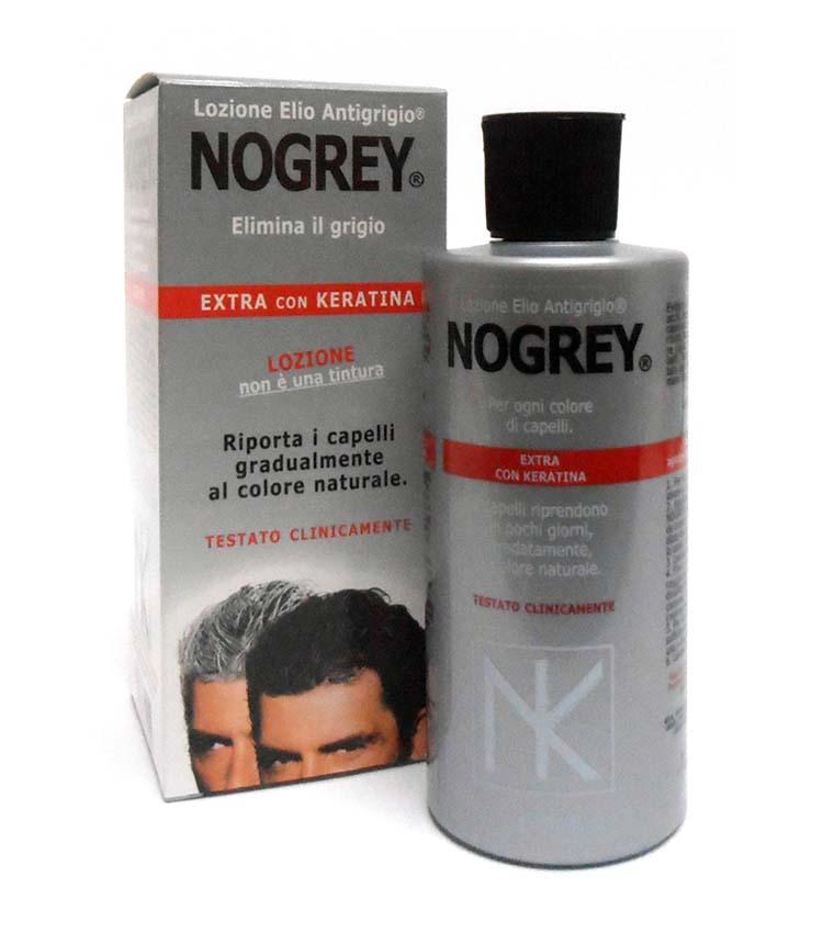NOGREY Lozione Elio Antigrigio extra con Keratina per capelli 200ml ... 27f6123ce580