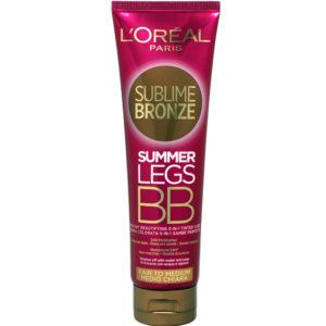 L'OREAL SUBLIME BRONZE SUMMER LEGS BB Crema Viso Medio Chiara 150ml