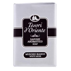 TESORI D'ORIENTE MUSCHIO BIANCO Sapone Solido Aromatico 150g