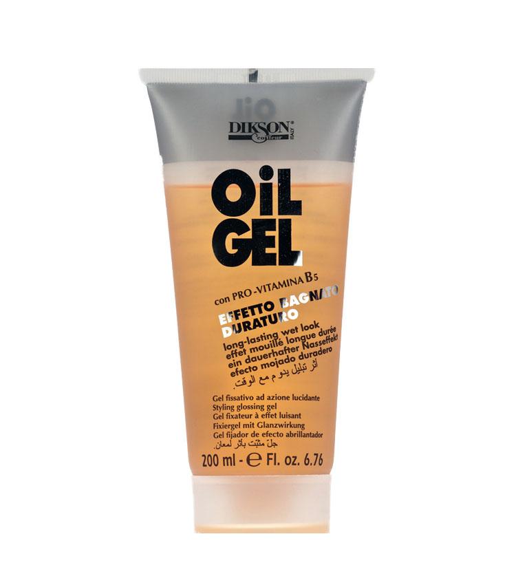 DIKSON OIL GEL Azione Fissativa e Lucidante gel capelli ...