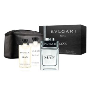 Cofanetto uomo BULGARI MAN edt 100ml + after shave balm 75ml + shower gel 75ml + beauty