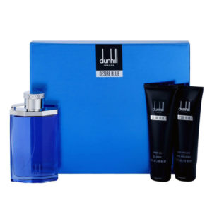 Cofanetto uomo DUNHILL DESIRE BLUE edt 100ml + shower gel 90ml + after  shave balm 90ml e528b8520a1