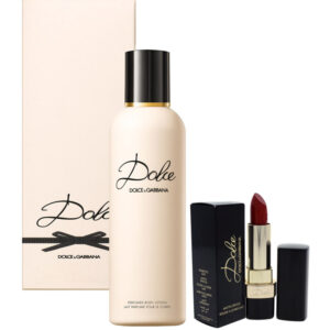 Cofanetto donna DOLCE & GABBANA DOLCE body lotion 100ml + rossetto labbra rouge