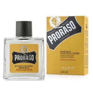 PRORASO WOOD AND SPICE Balsamo Cura Barba 100ml