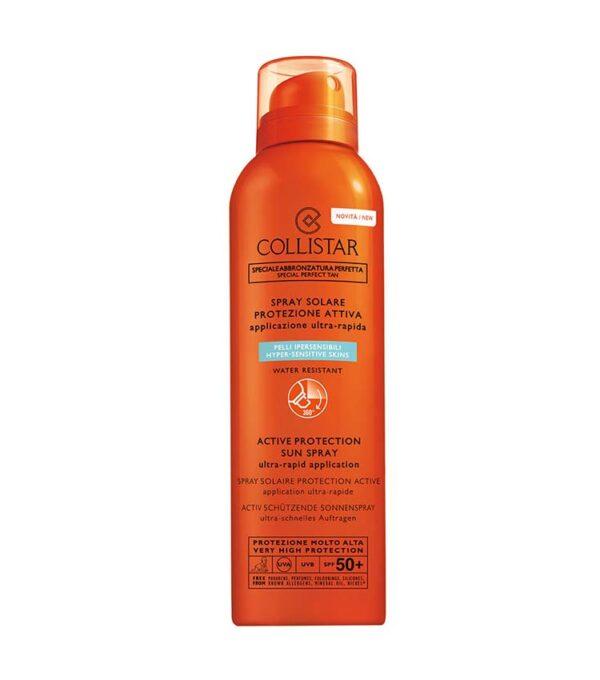 COLLISTAR Spray Solare Protezione Attiva SPF 50+ protezione molto alta 150ml