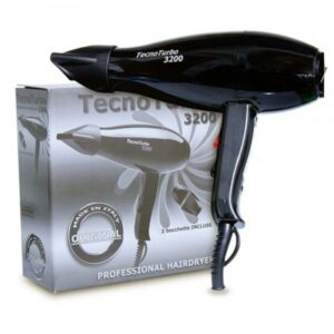 TECNO TURBO 3200 Asciugacapelli professionale 2000 Watt