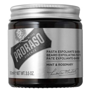 PRORASO MINT & ROSEMARY Pasta Esfoliante Barba 100ml