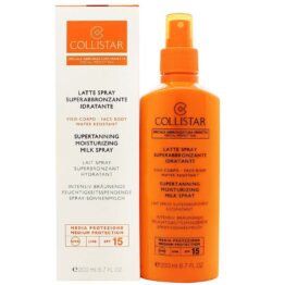 COLLISTAR Latte Spray Superabbronzante Idratante SPF 15 media protezione 200ml