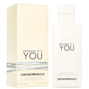 EMPORIO ARMANI BECAUSE IT'S YOU Sensual Perfumed Body Lotion lozione corpo 200ml